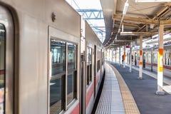 Station de train dans propre du Japon et nouveau tranquilles dans la ville urbaine Photo libre de droits