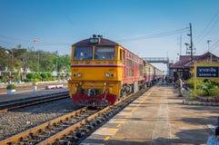 Station de train dans un petit village image libre de droits