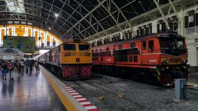 Station de train de Bangkok Photos stock