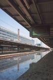 Station de train de Bruxelles-sud Photos libres de droits