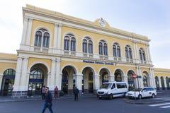 Station de train de Catane Images stock