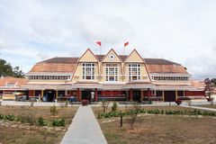 Station de train de Dalat Images libres de droits