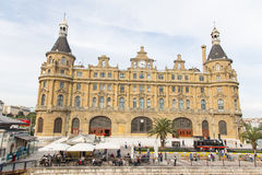 Station de train de Haydarpasa Photo stock