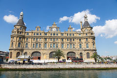 Station de train de Haydarpasa Photos stock