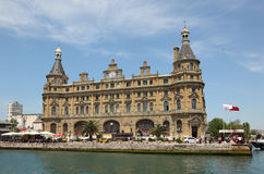 Station de train de Haydarpasa, Istanbul Photographie stock