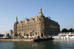 Station de train de Haydarpasa Istanbul Turquie Photographie stock