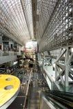 Station de train de Kyoto Hall Vertical d'intérieur Photo libre de droits