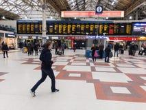 Station de train de Londres Victoria Photographie stock libre de droits