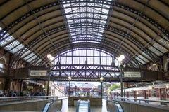 Station de train de Luz Photos stock