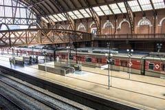 Station de train de Luz Photographie stock
