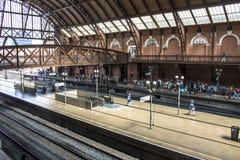 Station de train de Luz Photo libre de droits