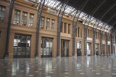 Station de train de Mapocho Photo stock