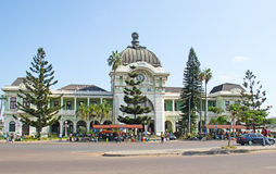 Station de train de Maputo Image stock