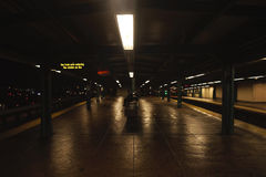 Station de train de New York City Image libre de droits