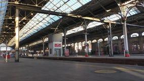 Station de train de Preston banque de vidéos