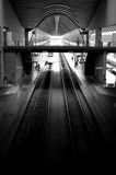 Station de train de Séville Image stock