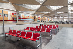 Station de train de Saragosse Delicias Photo libre de droits