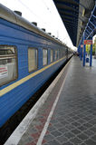 Station de train de Simferopol Image stock