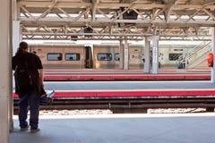 Station de train des Reines de la Jamaïque Image stock