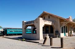 Station de train du Mexique Photos libres de droits