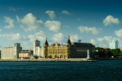 Station de train historique de Haydarpasa Photo stock