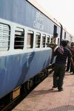 Station de train, Inde Photo libre de droits