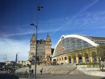 Station de train de Liverpool image libre de droits