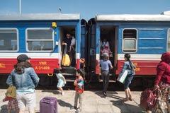 Station de train de Phan Thiet Images stock