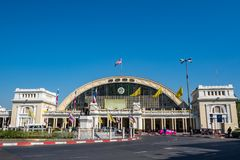 Station de train principale de Bangkok image libre de droits