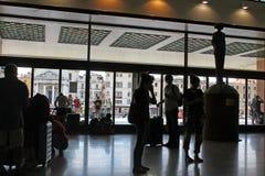 Station de train de Santa Lucia à Venise Italie photo libre de droits