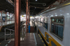 Station de train Semarang Images stock