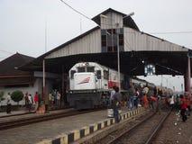 Station de train de Sidareja photo libre de droits