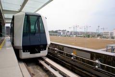 Station de train urbaine de Singapour Photos libres de droits