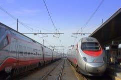 Station de train, Venise Italie Photographie stock libre de droits