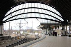 Station de train de York images libres de droits