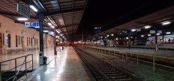 Station de train Zagreb Photographie stock libre de droits