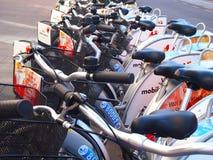 Station de vélo Photo libre de droits
