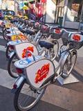 Station de vélo Photographie stock