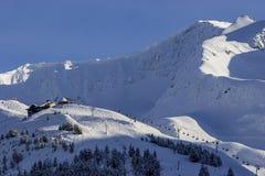 Station de vacances d'Alyeska dans les montagnes de Chugach près d'Anchorage, Alaska Photo libre de droits