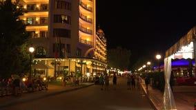 Station de vacances d'or de sables à Varna bulgaria 4K banque de vidéos