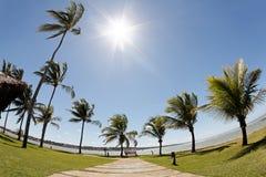 Station de vacances d'Eco d'Ajuda d'Arraial au Bahia photographie stock libre de droits