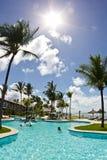 Station de vacances d'Eco d'Ajuda d'Arraial avec le jour ensoleillé photographie stock libre de droits
