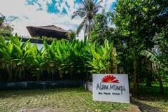 Station de vacances d'Eco sur l'île de Lombok, Indonésie photos libres de droits
