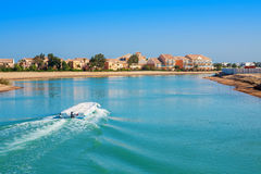 Station de vacances d'EL Gouna Égypte photos libres de droits