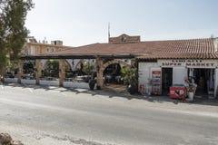 Station de vacances d'hôtel dans Pefkos Photographie stock