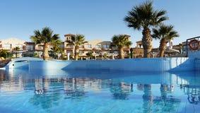 Station de vacances d'hôtel de luxe Images libres de droits