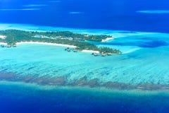 Station de vacances d'One&Only Reethi Rah, Maldives Photos stock