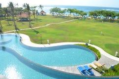 Station de vacances dans Bali Photo stock