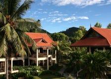 Station de vacances dans Pulau Redang, Malaisie Photographie stock libre de droits