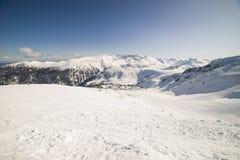 Station de vacances de Bansko Pirin Images libres de droits